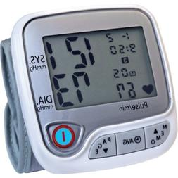 Lumiscope 1147 Automatic Wrist Blood Pressure Monitor, White