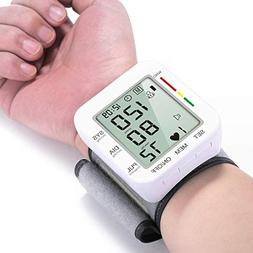 120 Reading Memory Blood Pressure Monitor Automatic Wrist Bl