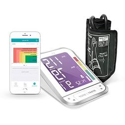 1byone Bluetooth Digital Blood Pressure Monitor with Large E
