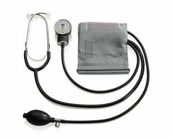 A&D MEDICAL Aneroid Home BP Kit with Attached Stethoscope LI