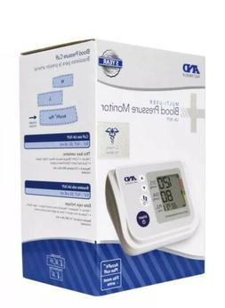 A&D Medical Arm Blood Pressure Monitor Accufit Plus Cuff UA-