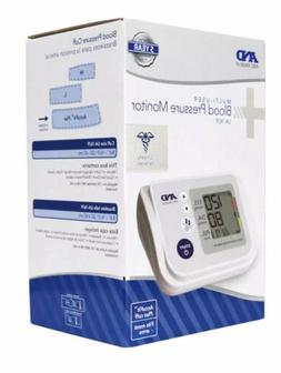 A&D Medical Arm Blood Pressure Monitor Accufit Plus Cuff Mul