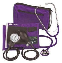 Veridian 02-12711 Aneroid Sphygmomanometer with Dual-head St