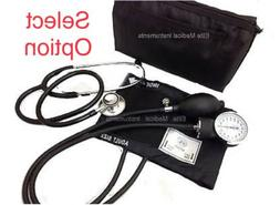 Aneroid Sphygmomanometer BP CUFF And/Or Stethoscope BLACK- S