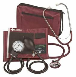 Veridian 02-12704 Aneroid Sphygmomanometer with Dual-head St