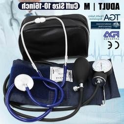Aneroid Sphygmomanometer Manual Arm Blood Pressure Monitor B