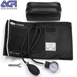 Manual Blood Pressure Cuff Aneroid Sphygmomanometer Carry Ca