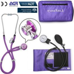 Aneroid Sphygmomanometer Stethoscope Manual Blood Pressure C