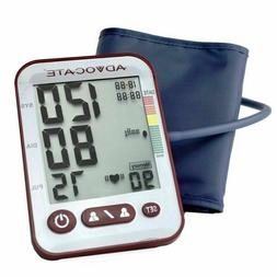 Advocate Arm Blood Pressure Monitor 26 Oz Health Monitor Sm-