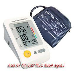 Digital arm blood pressure monitor Jumbo LCD+XL cuff