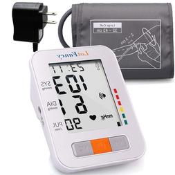 Arm High Blood Pressure Monitor Large BP Cuff Talking Functi