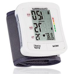 Auto Digital Wrist Blood Pressure LCD Monitor Machine Measur