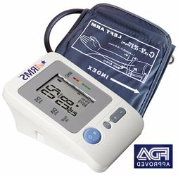 RMS Automatic Arm Blood Pressure Monitor w Heart Rate Monito