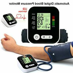Automatic Blood Pressure Monitor Upper Arm Digital BP Machin
