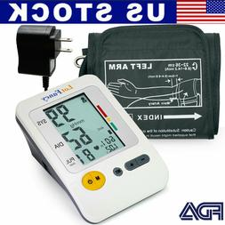 Automatic Digital Arm Blood Pressure Monitor BP Cuff Gauge M