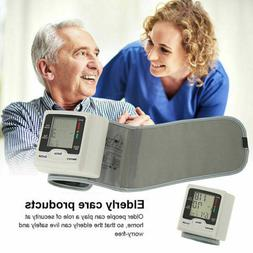Automatic Digital Blood Pressure Monitor Wrist Adults Replac