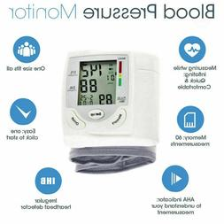 AUTOMATIC DIGITAL WRIST BLOOD PRESSURE BP CUFF MACHINE HOME
