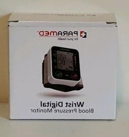 Paramed Automatic Digital Wrist Blood Pressure Monitor Blood