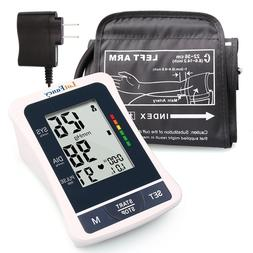 Automatic High Arm Blood Pressure Monitor BP Cuff Gauge Mach
