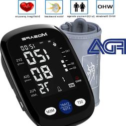 Automatic Arm Blood Pressure Monitor Digital BP Cuff Pulse H