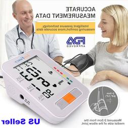 LotFancy Automatic Arm Blood Pressure Monitor One-Touch Home