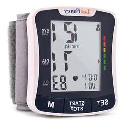Automatic Wrist Blood Pressure Cuff Monitor Extra Large LCD