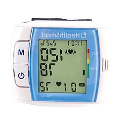 HealthSmart Automatic Wrist Blood Pressure Monitor with Fast