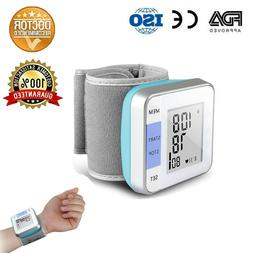 Automatic Wrist Blood Pressure Monitor Digital Cuff FDA Appr