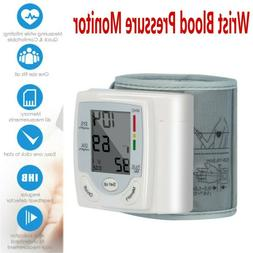 Automatic Wrist High Blood Pressure Monitor BP Cuff Machine
