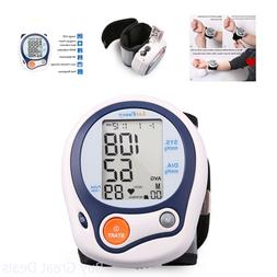 Automatic Wrist High Low Blood Pressure Cuff Monitor FDA App