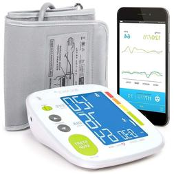 Balance Bluetooth Blood Pressure Monitor Cuff  BPM Easy To U