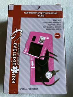 Dixie Ems Blood Pressure and Sprague Stethoscope Kit Pink