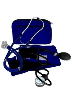 Dixie EMS Blood Pressure and Sprague Stethoscope Kit - Royal