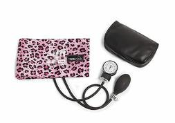 koi by ADC® Blood Pressure Cuff With Bag Pink Cheetah