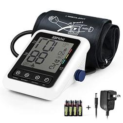 Blood Pressure Machine with AC Adapter, HOMIEE Blood Pressur