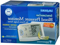LifeSource Premium Upper Arm Blood Pressure Monitor with XL