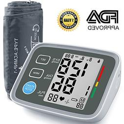 Blood Pressure Monitor, AlphaMed Upper Arm BP Monitor Blood