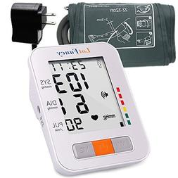 LotFancy Blood Pressure Monitor, Digital Sphygmomanometer, T