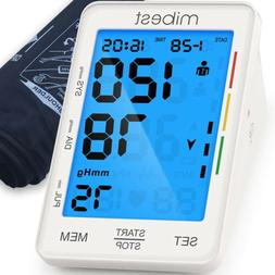 blood pressure monitor large led display blood