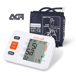 COULAX Digital Blood Pressure Monitor with WHO Indicator and