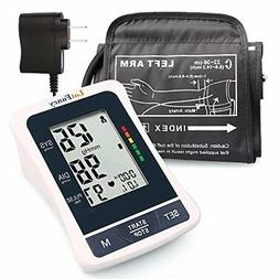 Blood Pressure Monitor with Upper Arm Cuff and AC Adapter, 2