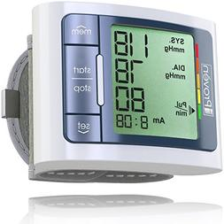 Blood Pressure Monitor Wrist Cuff - Automated BP Machine - D