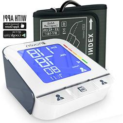Blood Pressure Monitor - High Accuracy Automatic Upper Arm P