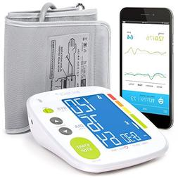 Bluetooth Blood Pressure Monitor Cuff by GreaterGoods, Free