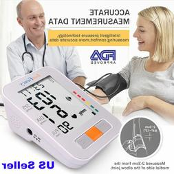 Automatic Arm High Blood Pressure Monitor BP Cuff Gauge Mach