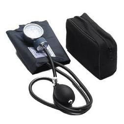 BRAND NEW ADULT BLOOD PRESSURE BP CUFF SET BLACK WITH CASE P
