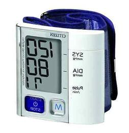 Citizen Ch-657 Wrist Digital Blood Pressure Monitor