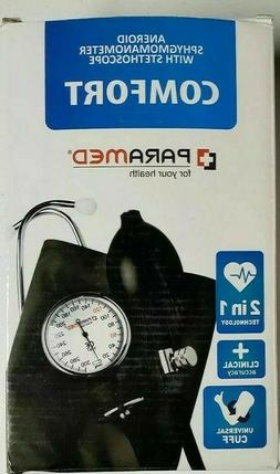 Paramed Comfort Aneroid Blood Pressure Kit 2-in-1 Technology