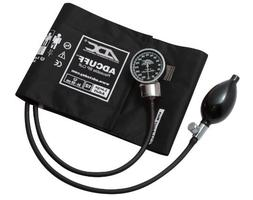 ADC DIAGNOSTIX 700 Pocket Aneroid Sphygmomanometer, Black, L