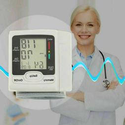 Digital Automatic Blood Pressure BP Monitor Wrist Adults Rep